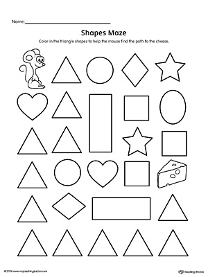 Shape Drawing Worksheets At Getdrawings Free For Personal Use