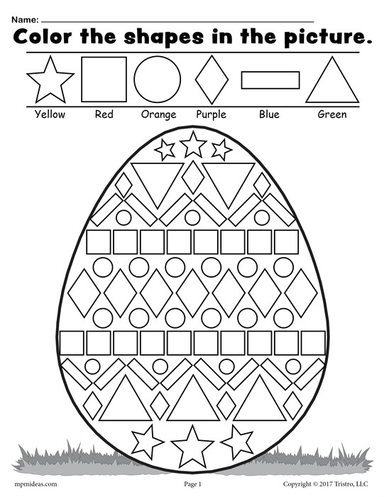 Shape Drawing Worksheets At Getdrawings Free For Personal Use. 541x700 Free Easter Egg Shapes Worksheet Coloring Page. Worksheet. Worksheet At Mspartners.co