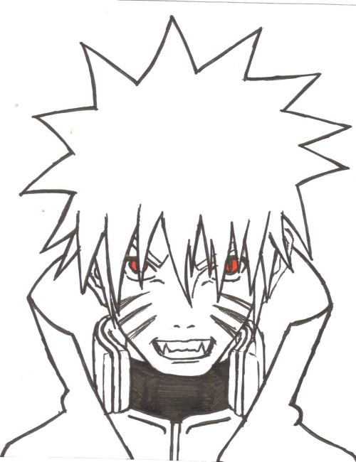 The best free Kyuubi drawing images  Download from 58 free