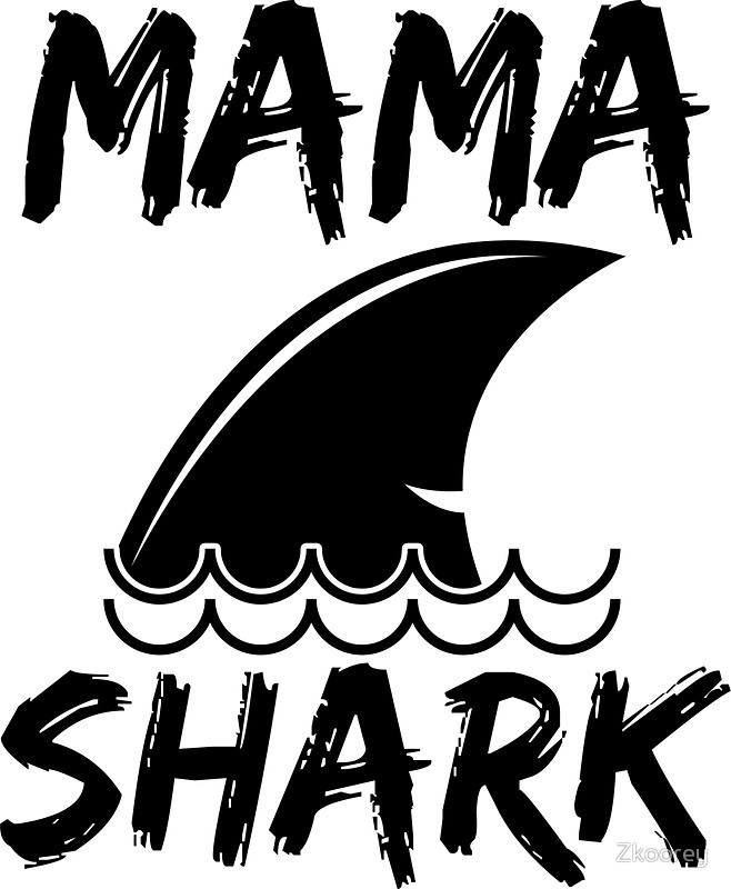 658x800 Mama Shark Loving Mama Funny Shirt Happy Shark Lovers Sharky Shirt
