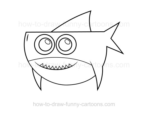 500x382 To Draw A Shark