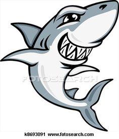 236x274 Funny Shark Illustration Iphone 5 Wallpaper Ipod Wallpaper Hd