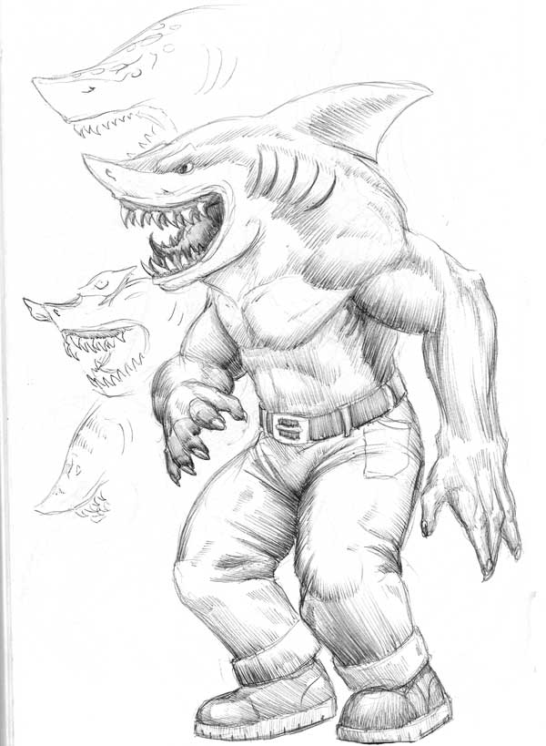 600x819 Street Sharks By Turbofanatic