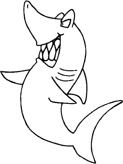 Shark Drawing Cartoon at GetDrawingscom Free for personal use
