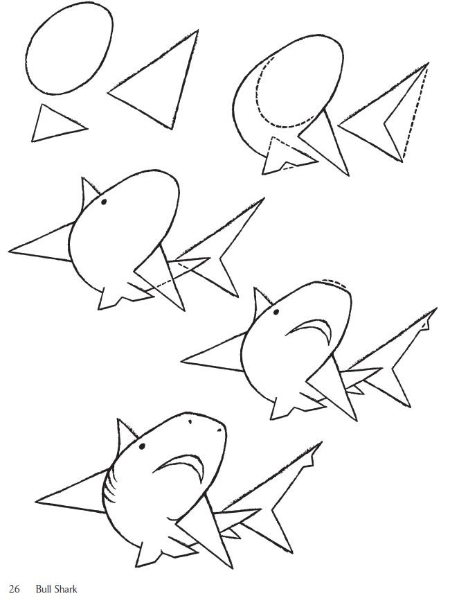650x873 The Best Shark Drawing Easy Ideas On Simple Animal