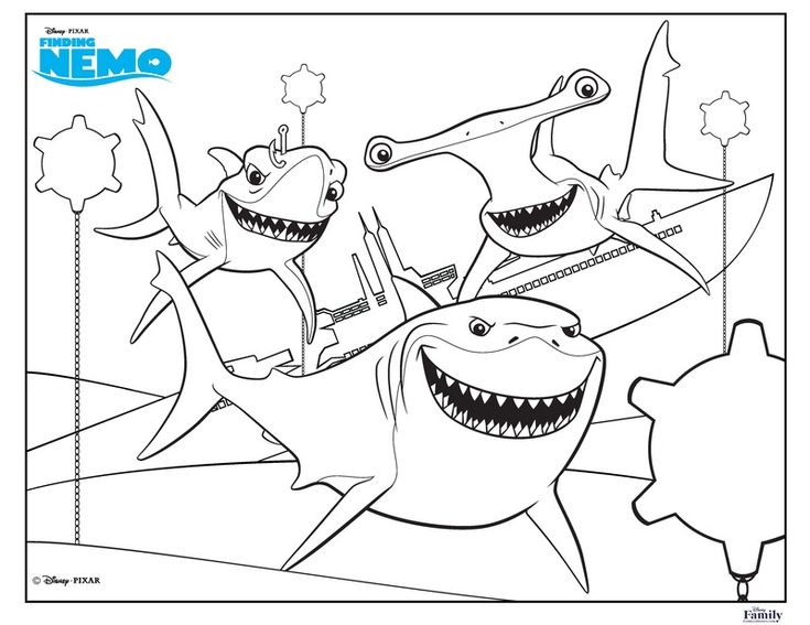 735x567 The Best Shark Coloring Pages Ideas On Sharks