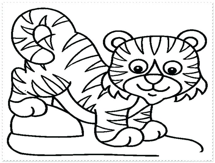 700x532 Tiger Shark Coloring Pages Free Tiger Coloring Pages Free Tiger