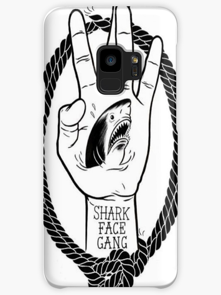750x1000 Shark Face Gang Logo Cases Amp Skins For Samsung Galaxy By