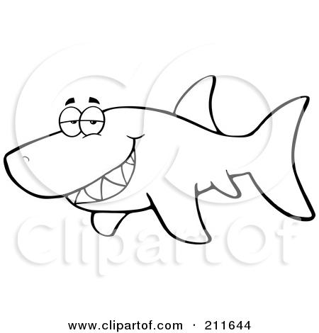 450x470 shark fin outline clipart panda