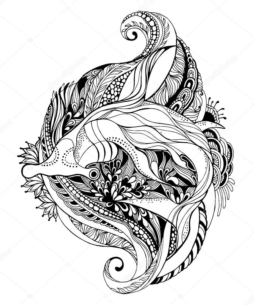 Shark Head Drawing at GetDrawings.com | Free for personal use Shark ...