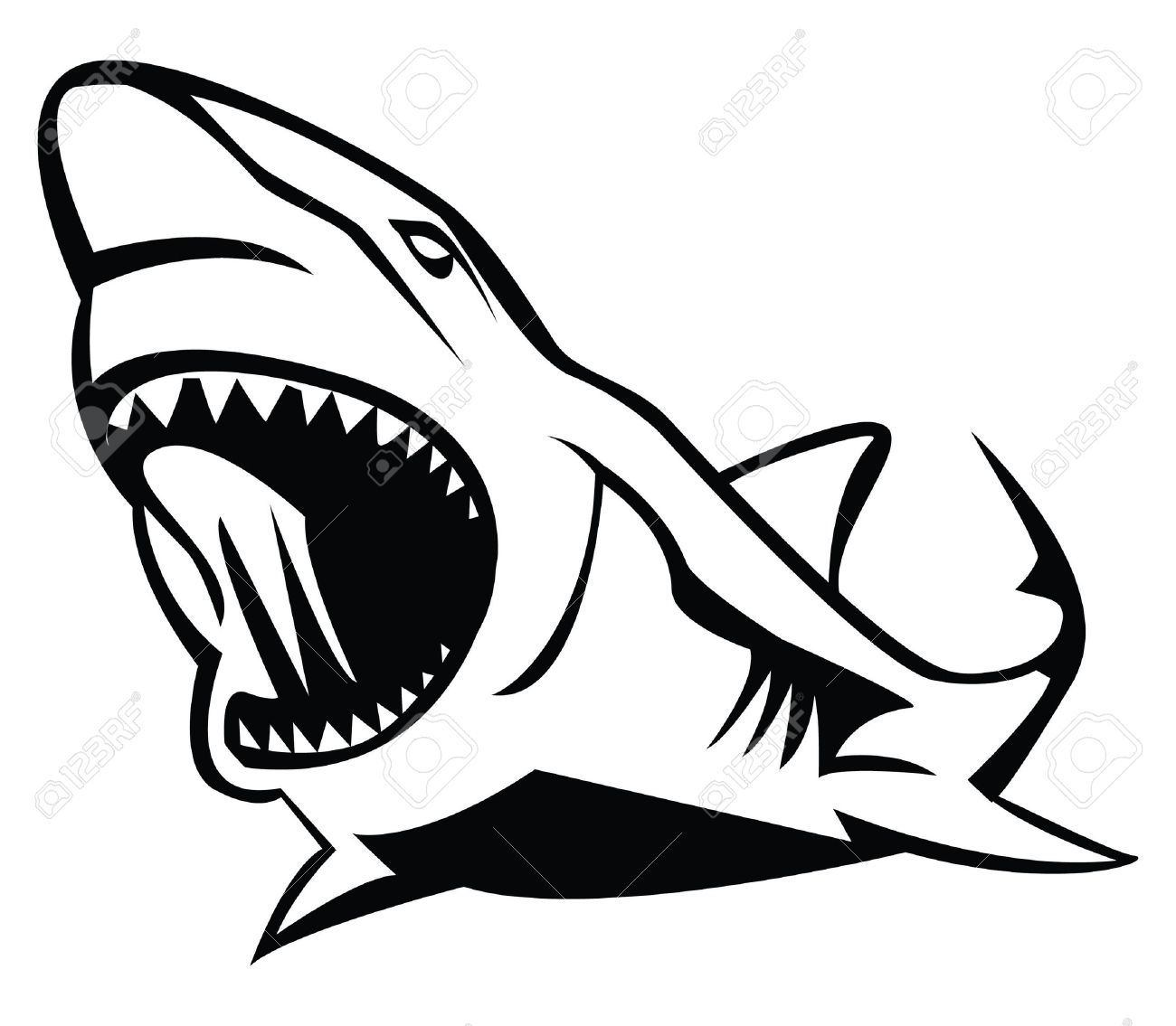 Shark Mouth Drawing at GetDrawings.com | Free for personal use Shark ... for shark drawing open mouth  174mzq