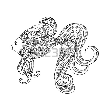 450x450 Fish Drawing Stock Photos. Royalty Free Business Images