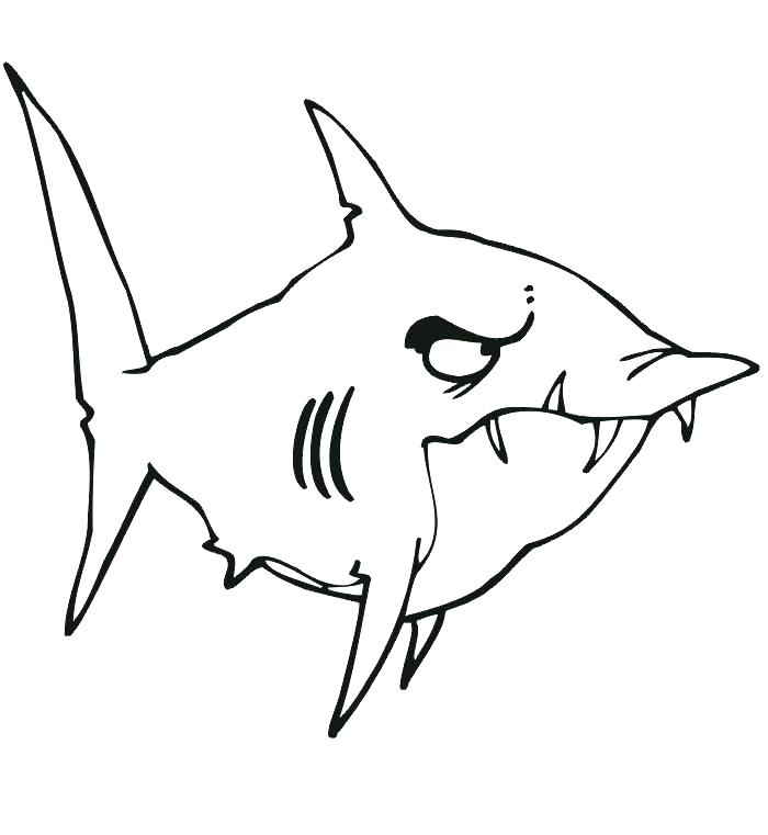 700x761 Awesome Coloring Page Shark Crayola Photo Bull Colouring Pencil