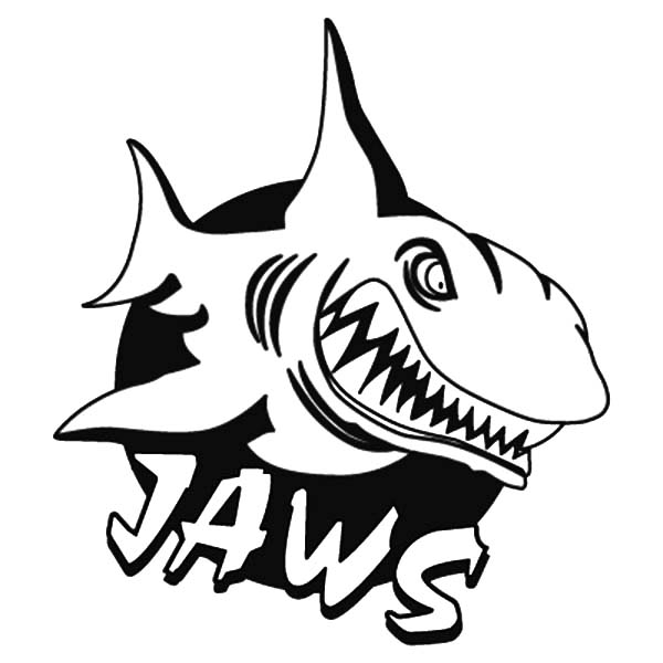 600x600 How To Draw Shark Jaws Coloring Pages Best Place To Color