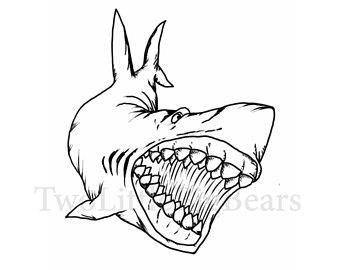 340x270 Shark Tattoo Etsy