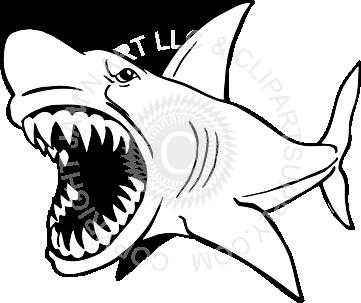361x303 Biting Shark