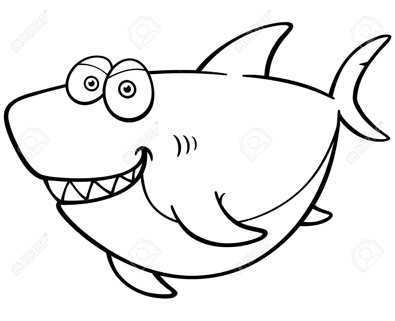 Shark Simple Drawing at GetDrawings Free download