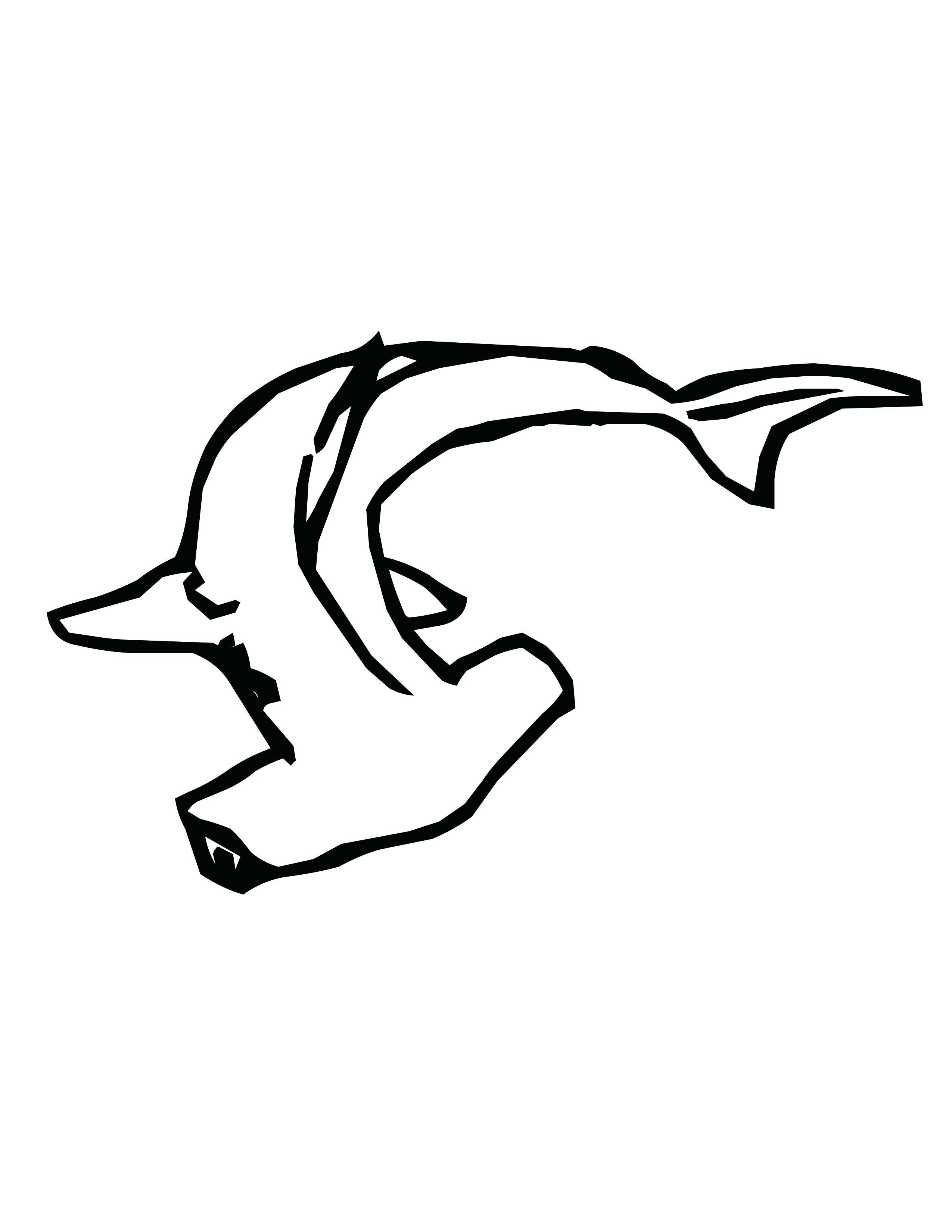 Shark Simple Drawing at GetDrawings.com   Free for personal use ...