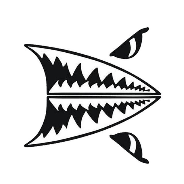 Shark Teeth Drawing