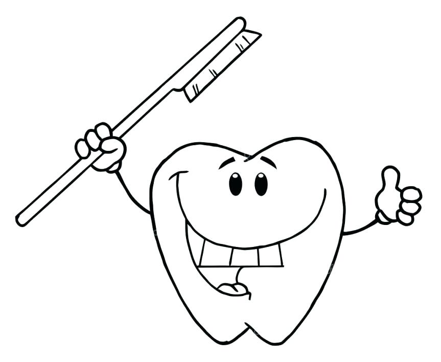 863x708 Teeth Coloring Page Coloring Pages Toothpaste And Toothbrush