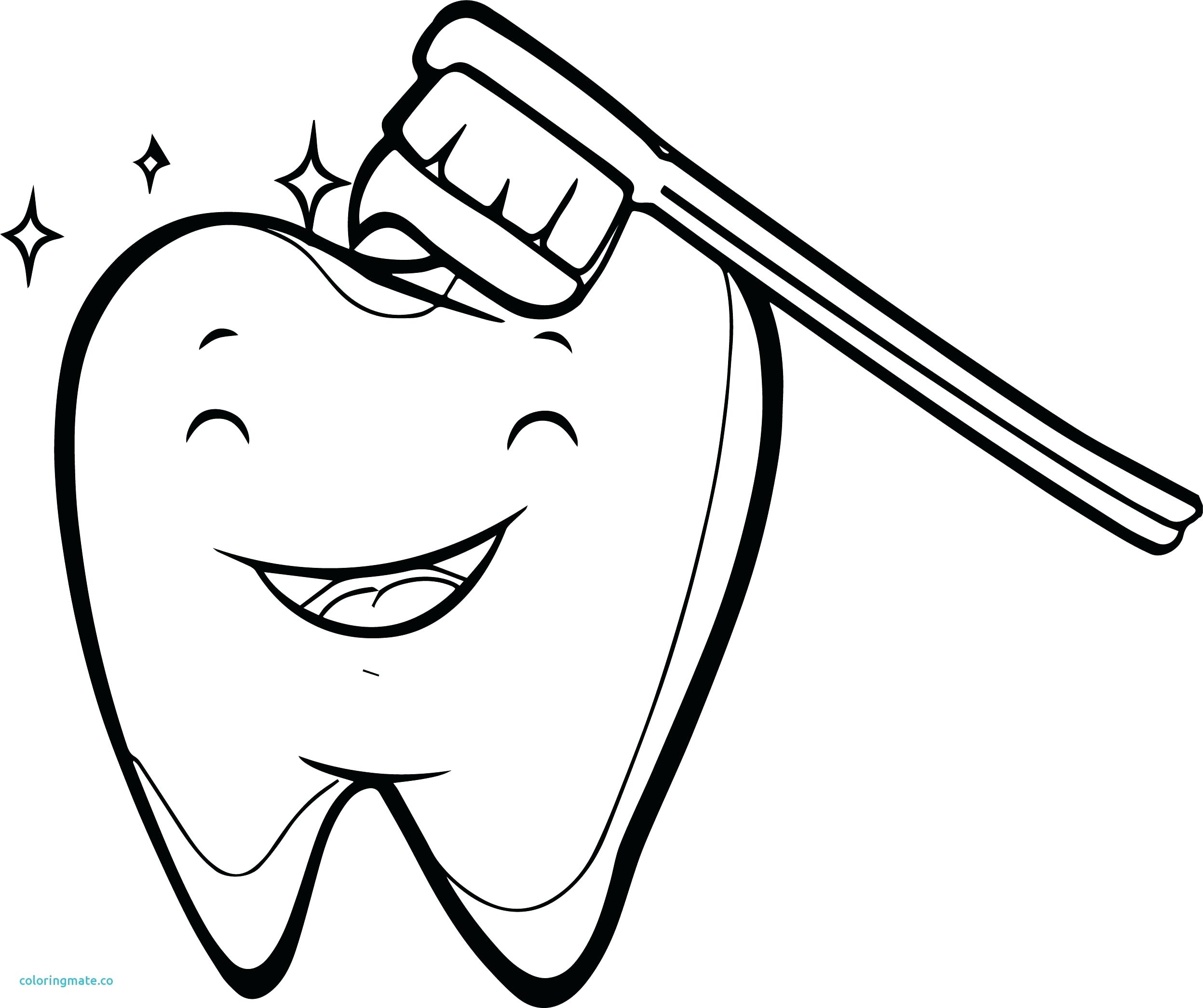 2495x2091 Coloring Brushing Teeth Coloring Page Pages Download Large Image