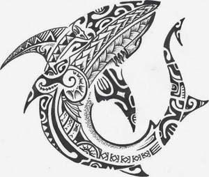 300x254 Haaien Tattoos And Designs Tattoo Planet 114