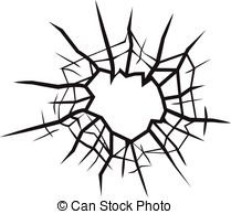 209x194 Cracked Glass Clipart