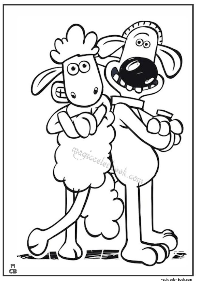 685x975 Shaun Sheep Free Printable Coloring Pages 02