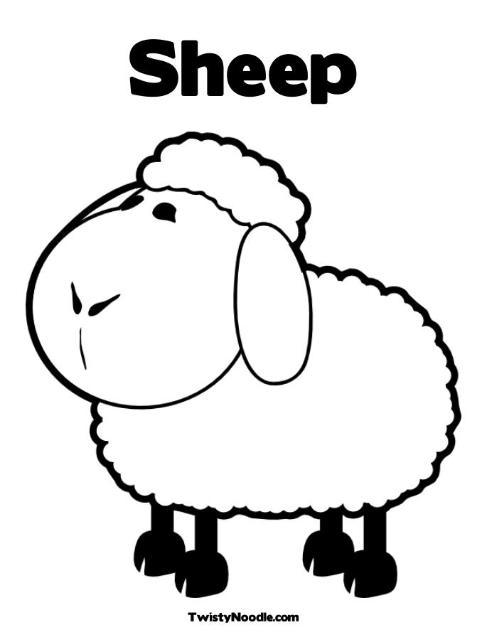 685x886 Appealing Sheep Coloring Pages 84 With Additional Coloring Pages