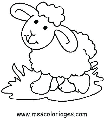 400x454 Trend Lost Sheep Coloring Page Kids Coloring Pages
