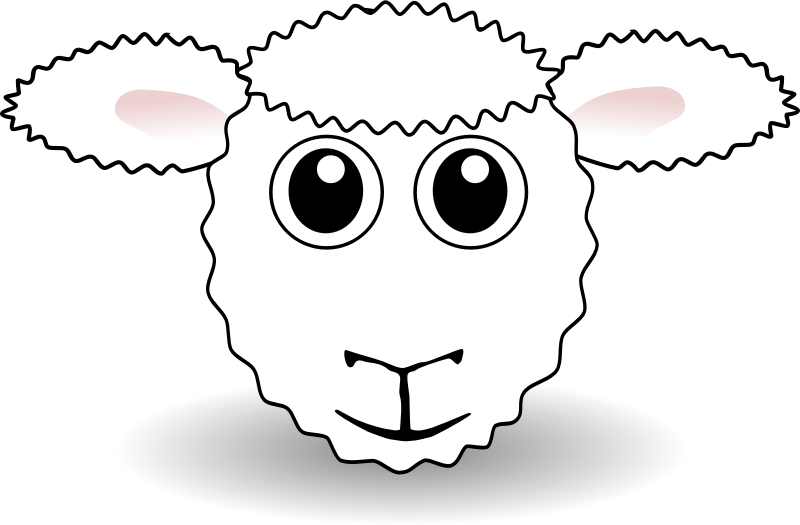 800x525 Download Sheep Clip Art ~ Free Clipart Of Cute Sheep Fluffy Hand
