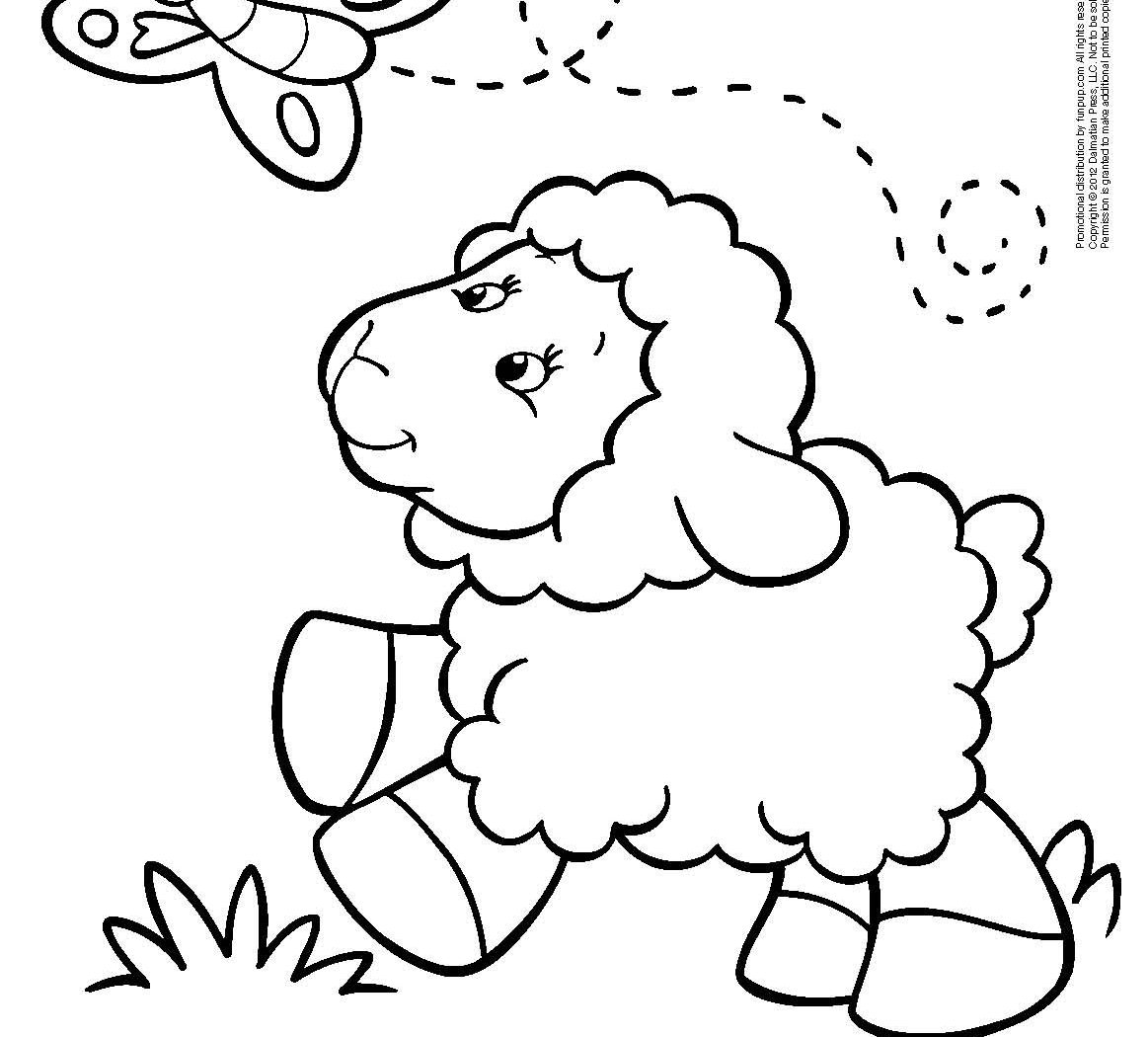 Sheep Images For Drawing at GetDrawings