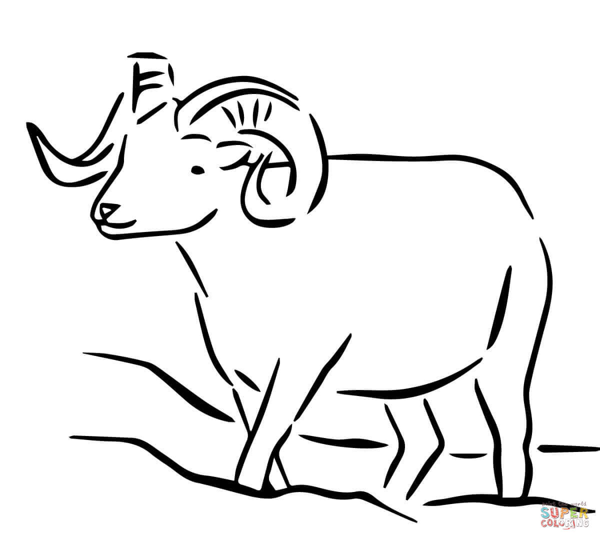 Sheep Outline Drawing at GetDrawings.com | Free for personal use ...