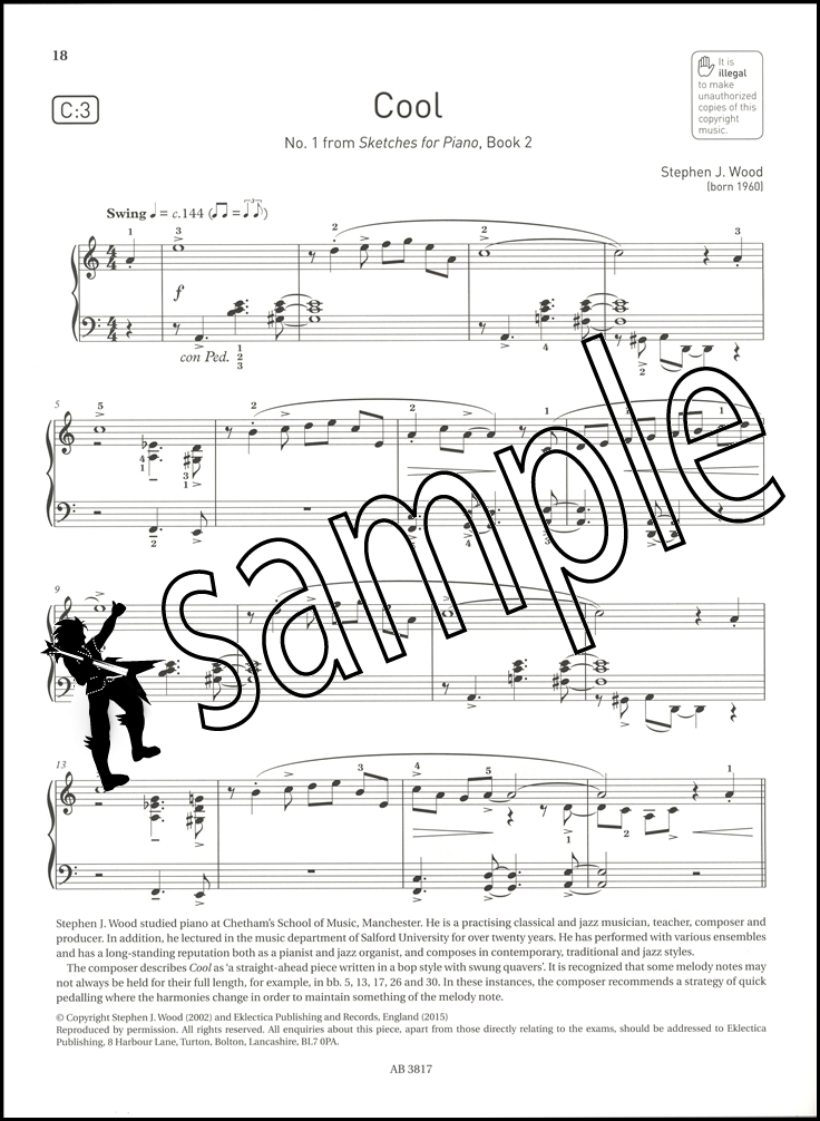 736x1006 Abrsm Piano Exam Pieces 2017 2018 Syllabus Grade 5 Sheet Music