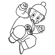 230x230 Top 20 Free Printable Dragon Ball Z Coloring Pages Online