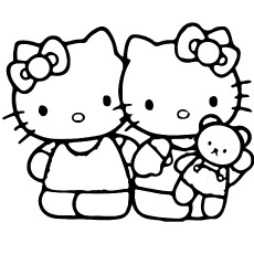 230x230 Top 75 Free Printable Hello Kitty Coloring Pages Online