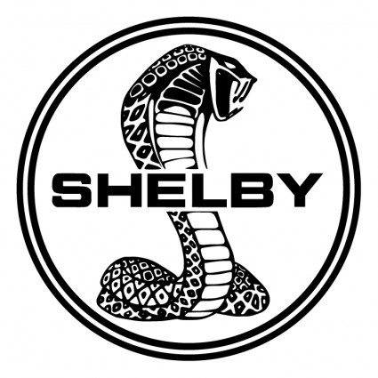 425x425 Shelby Cobra Logo Drawing Shot On Cars