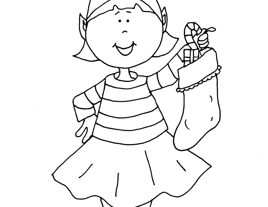 1080x834 Shelf Astounding Girl Elves Coloring Pages With Elf On The Shelf