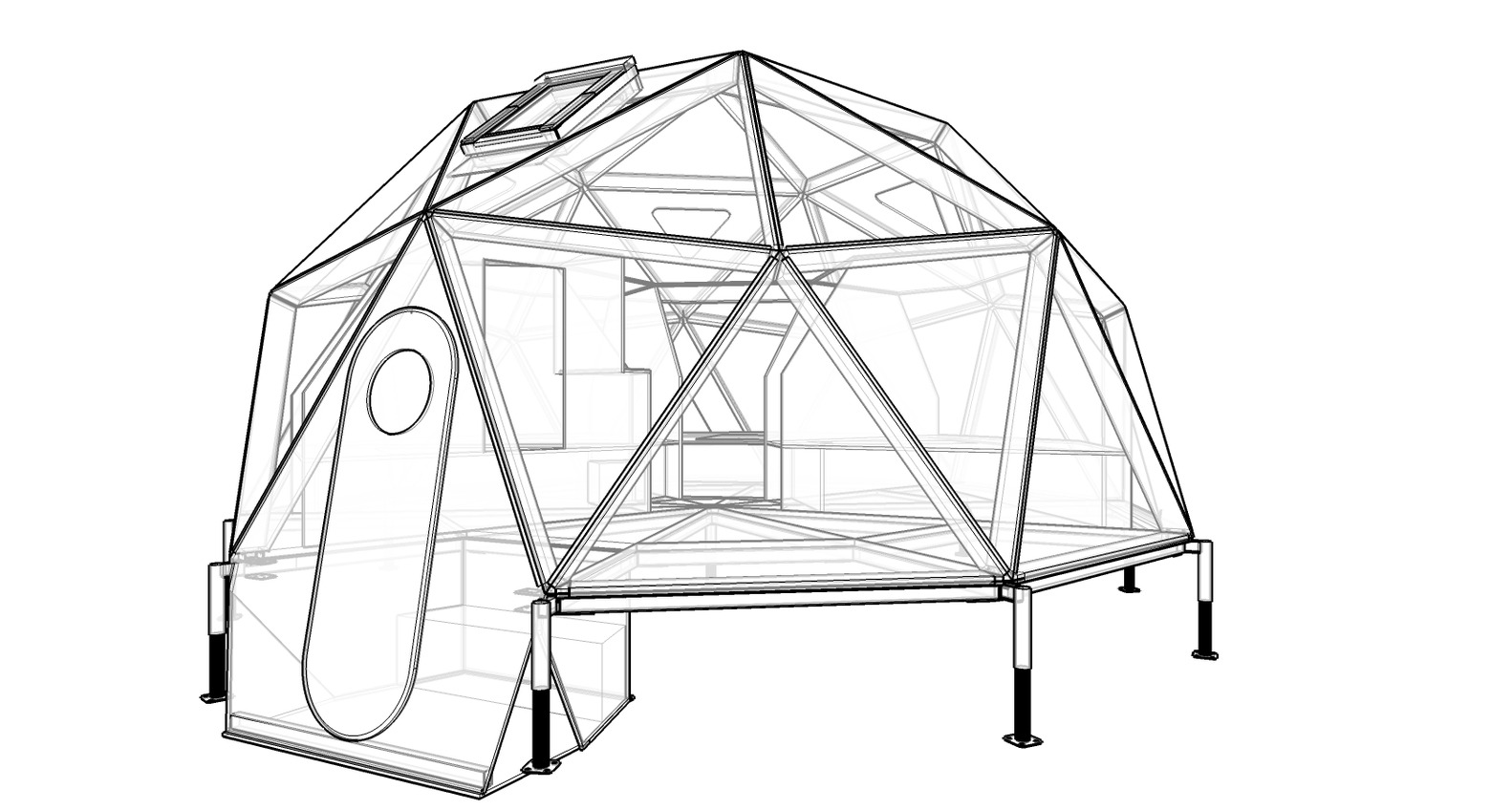 1582x848 Gallery Of Lightweight And Compact Shelter Is The Last Base Before