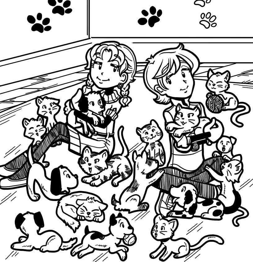 816x846 Fan Story About A Day At The Animal Shelter Dork Diaries