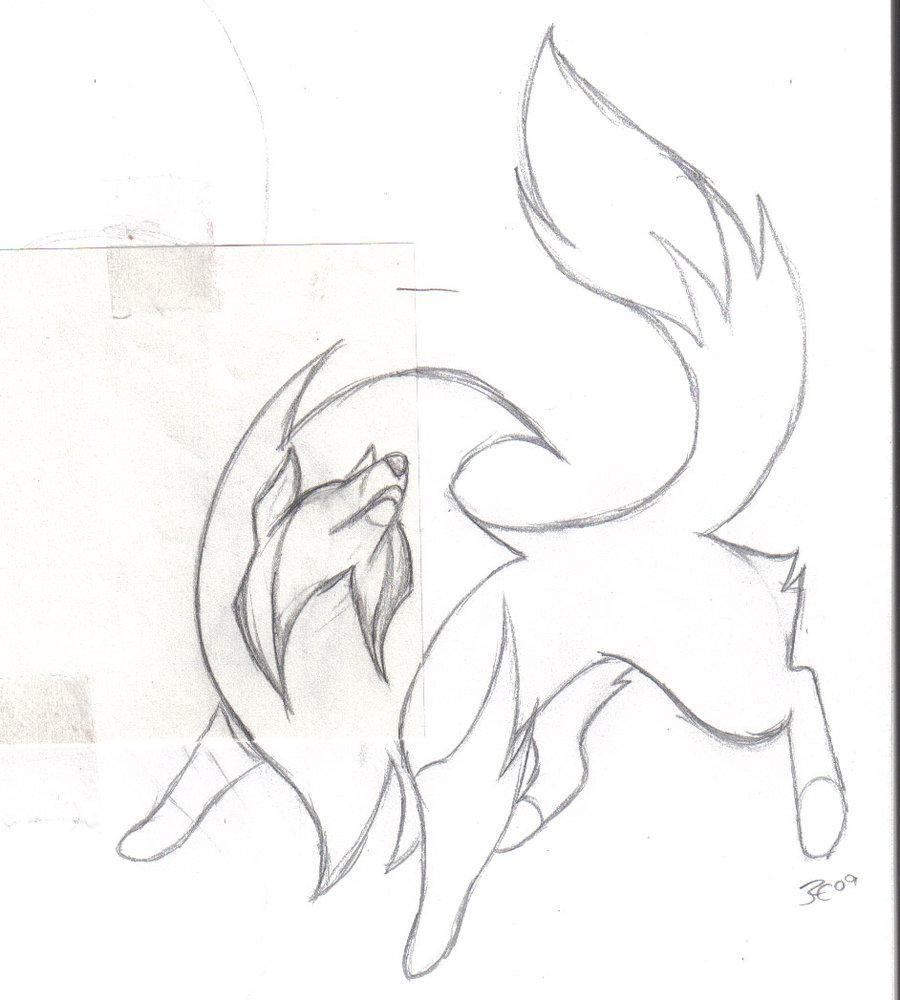 Sheltie Drawing