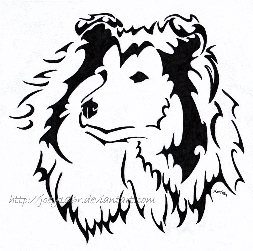 807x800 Collie Tattoo Ink Me Collie