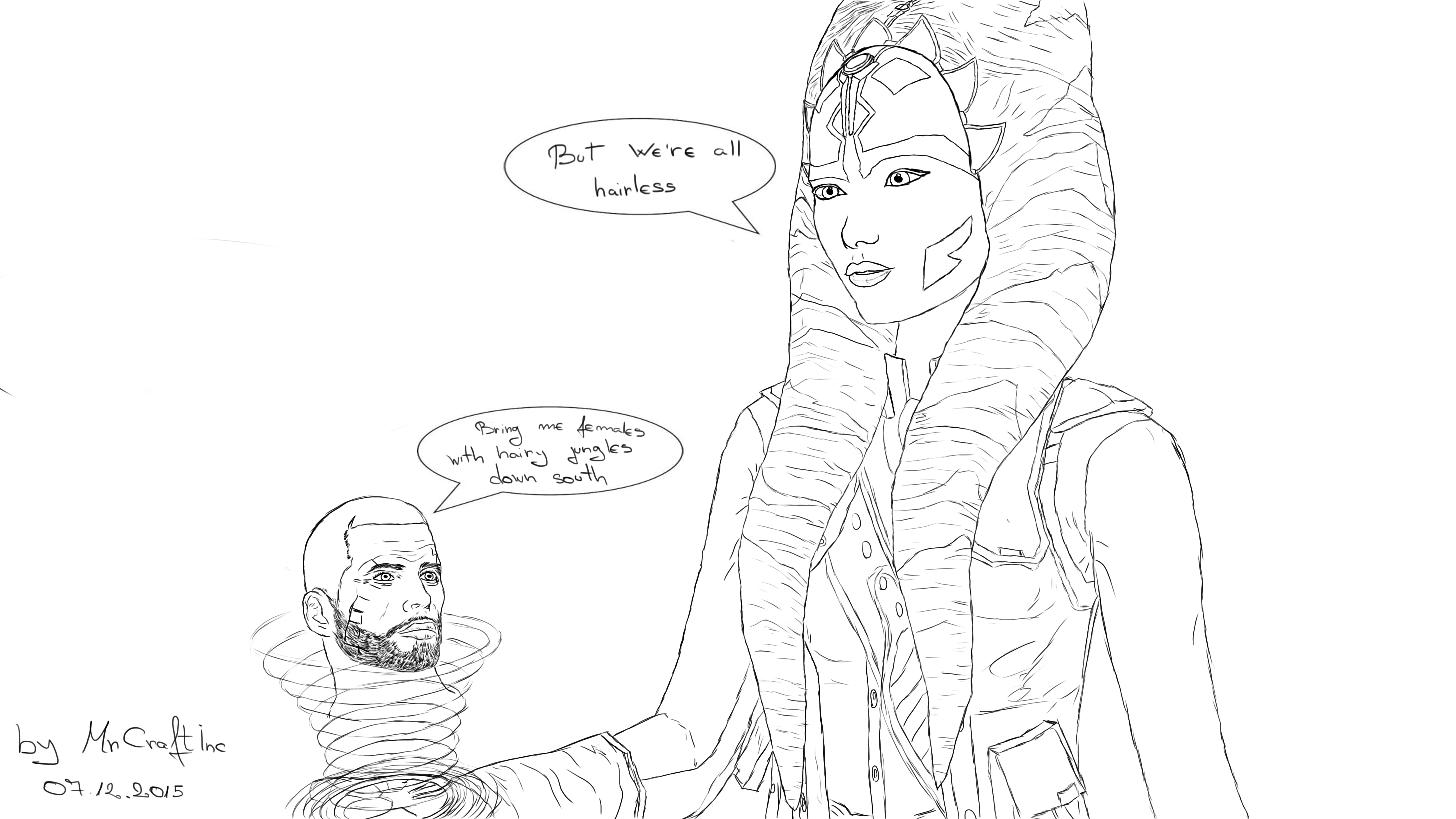 5000x2813 Star Wars Meets Shepard By Mrcraftinc