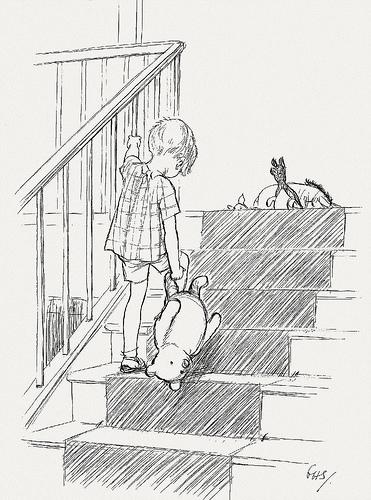 371x500 Bibliodyssey Original Winnie The Pooh Drawings