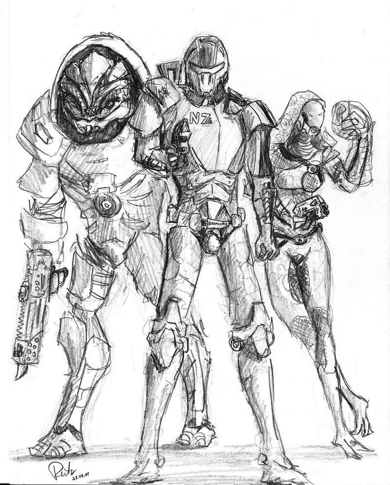 802x997 Commander Shepard By Frog Sward