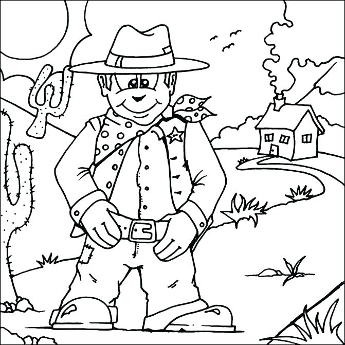 671x671 Wild West Coloring Page Coloring Pages On Pins Wild West Town