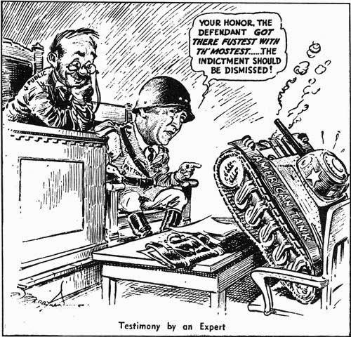 500x480 General Patton's Letter Defending Sherman Tank The Tank And Afv Blog