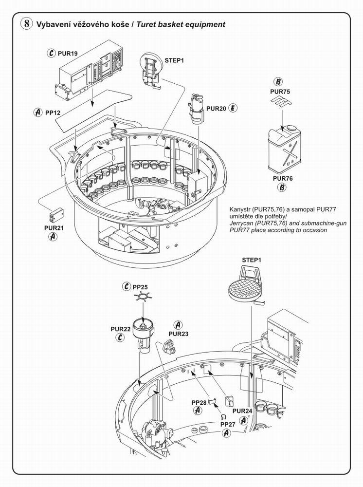 746x1000 M4 Sherman Interior Tam Cmk 3027