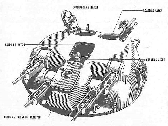 650x488 Tank Aa, 20mm Quad, Skink