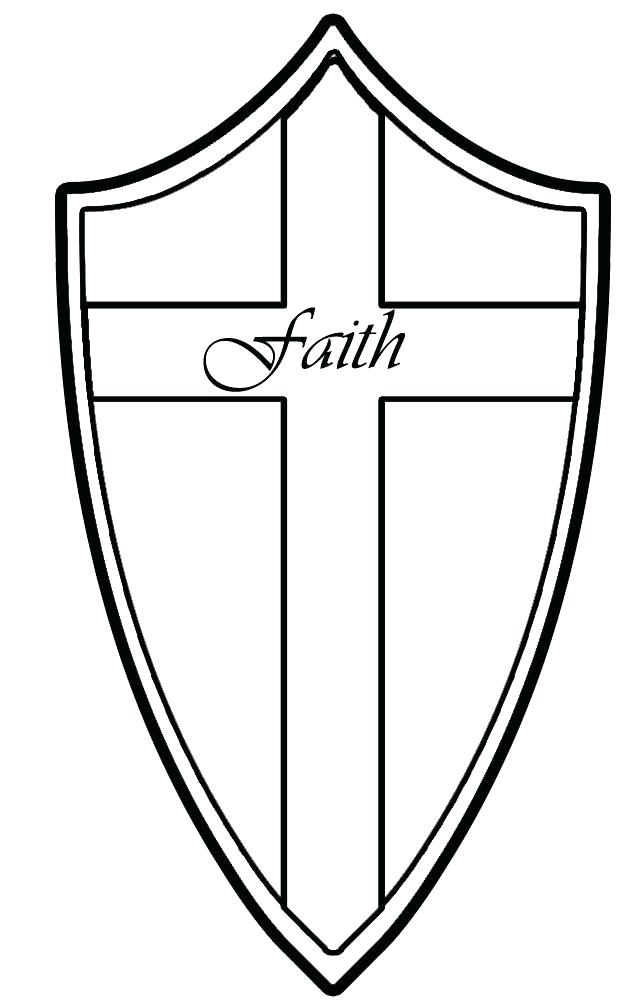 640x1000 Ctr Coloring Page Faith Shield Coloring Page Ctr Colouring Page